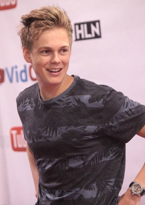 Caspar Lee as seen in June 2014