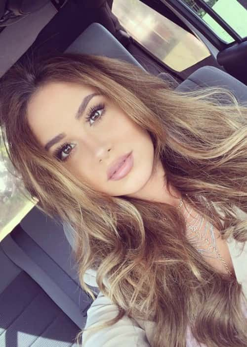 Catherine Paiz in an Instagram selfie in May 2015
