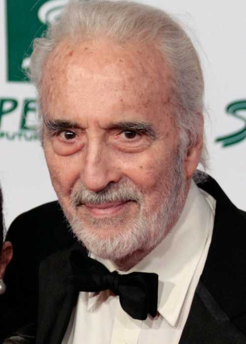 Christopher Lee at the Women's World Awards in Austria in 2009