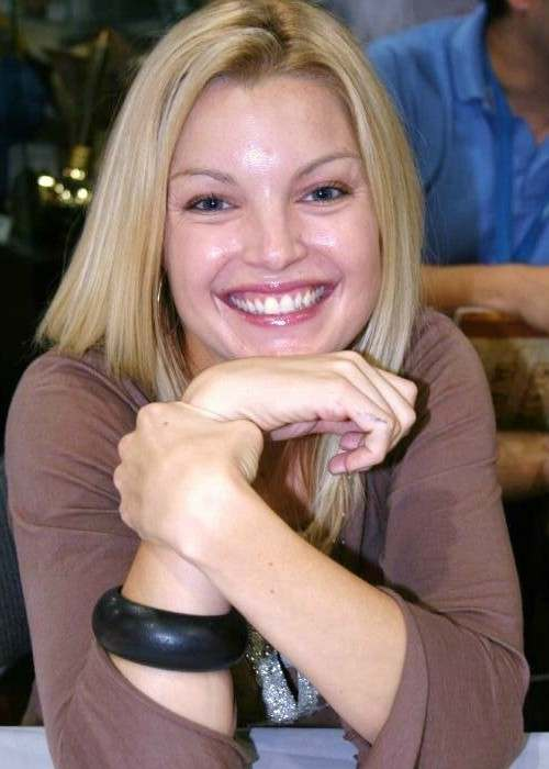 Clare Kramer at Comic-Con 2006