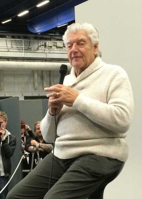 David Prowse at The Sci Fi Film Convention in Stockholm in December 2013