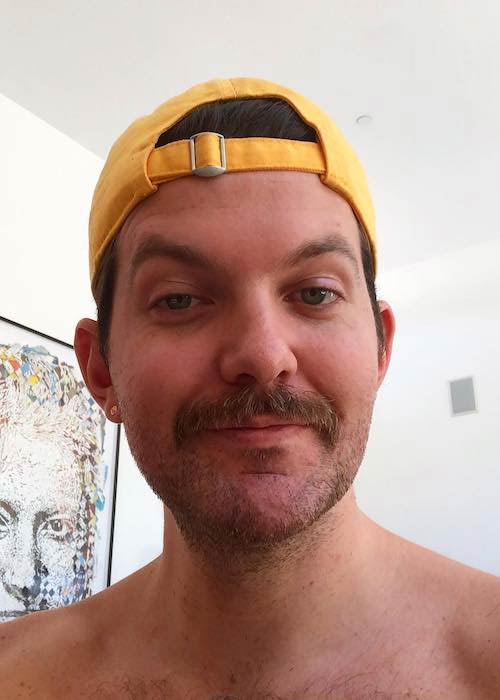 Dillon Francis in an Instagram selfie in May 2018
