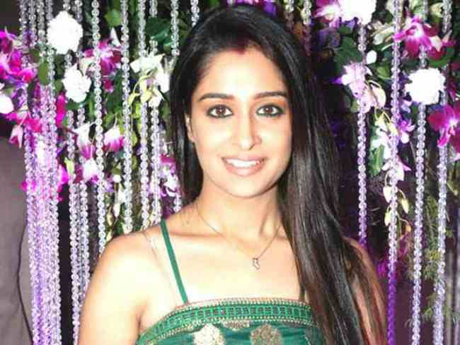 Dipika Kakar at 150 episodes bash of Sasural Simar Ka in June 2014