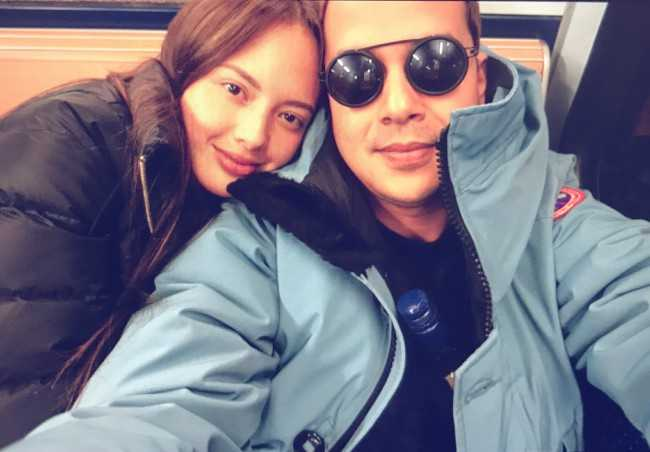 Ellen Adarna in an Instagram Selfie with John Lloyd Cruz in October 2017