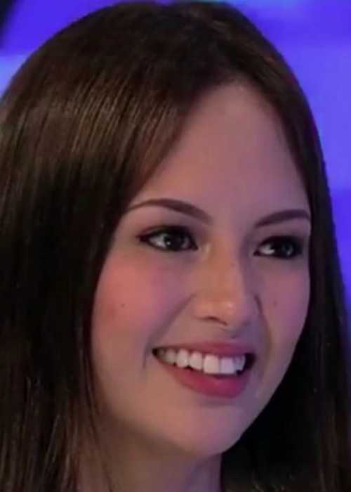 Ellen Adarna on the Aquino and Abunda Tonight Show in June 2014