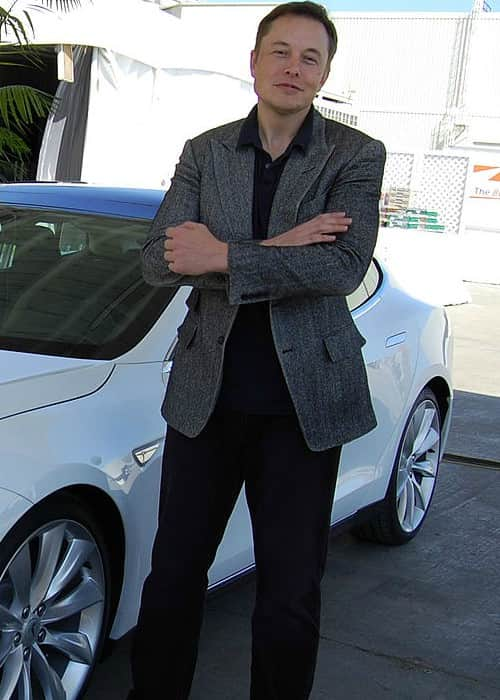 Elon Musk as seen in October 2011