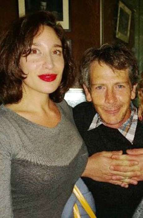 Emma Forrest and Ben Mendelsohn in a selfie in October 2014