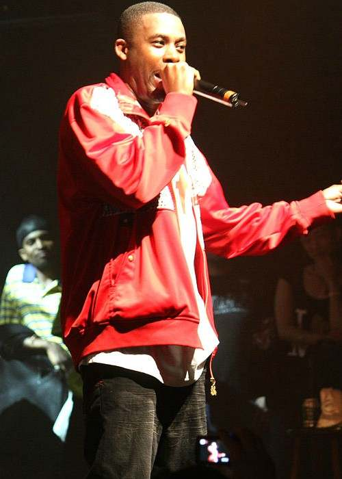 GZA at the Paid Dues hip hop festival June 2008