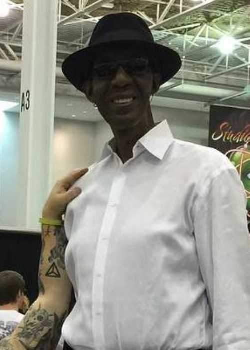 George Bell at the Hampton Tattoo Festival in 2016