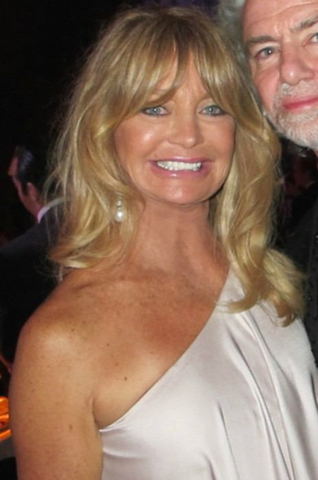 Goldie Hawn as seen in May 2011