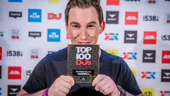 Hardwell as seen in April 2017