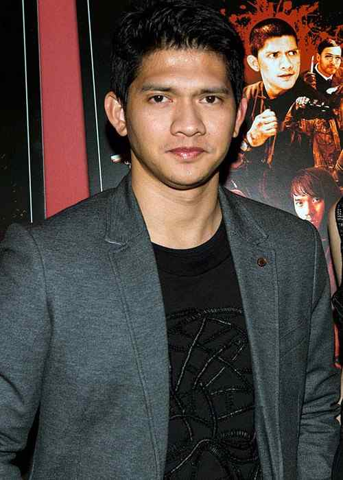 Iko Uwais at premiere of Raid 2 in New York on 17 March 2014
