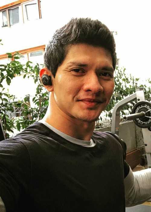 Iko Uwais in an Instagram selfie in January 2018