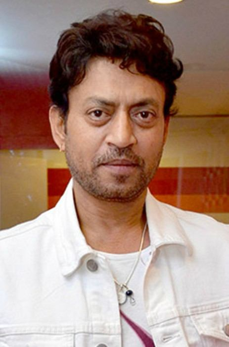 Irrfan Khan at radio station Red FM 93.5 in May 2015