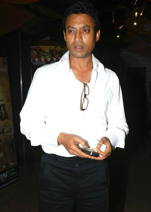 Irrfan Khan at the premiere of Goodbye Bafana