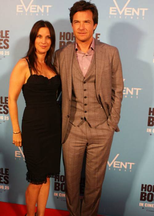 Jason Bateman and Amanda Anka at Horrible Bosses premiere in August 2011