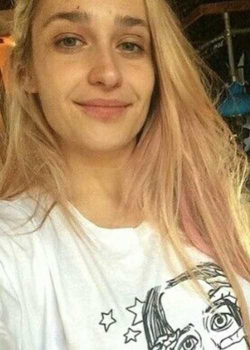 Jemima Kirke in a Candid Selfie