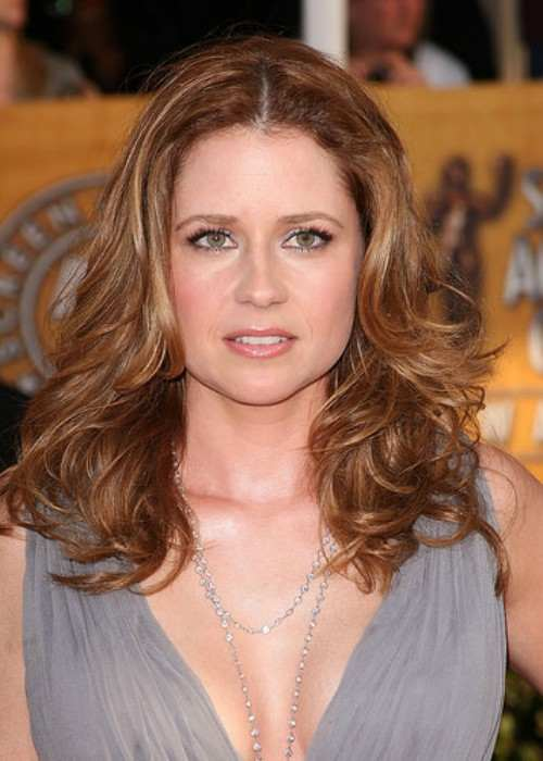 Jenna Fischer at the 15th Annual Screen Actors Guild Awards in January 2009