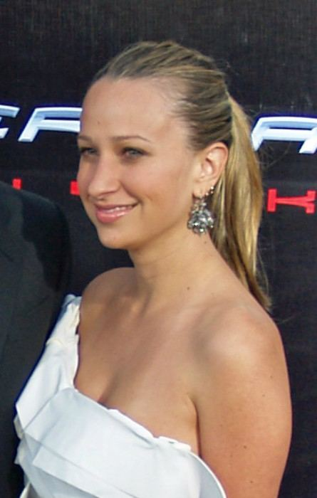 Jennifer Meyer at the premiere of Spiderman 3 in April 2007
