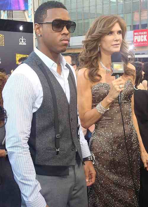 Jeremih and Julie Moran at the 2009 American Music Awards