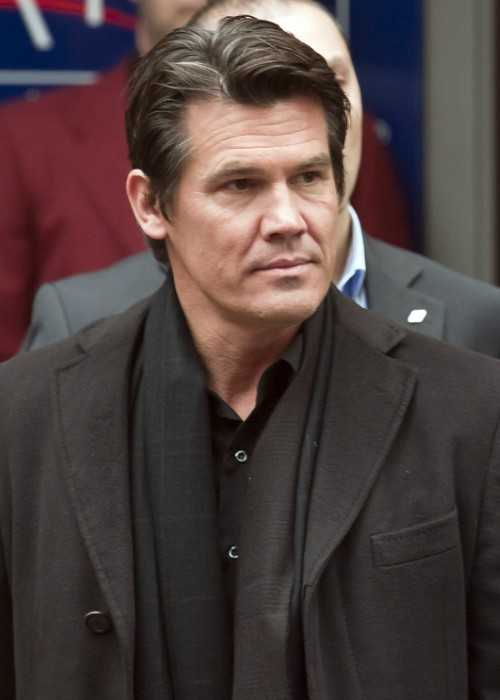 Josh Brolin Leaving the Press Conference of True Grit at the Berlin Film Festival in 2011