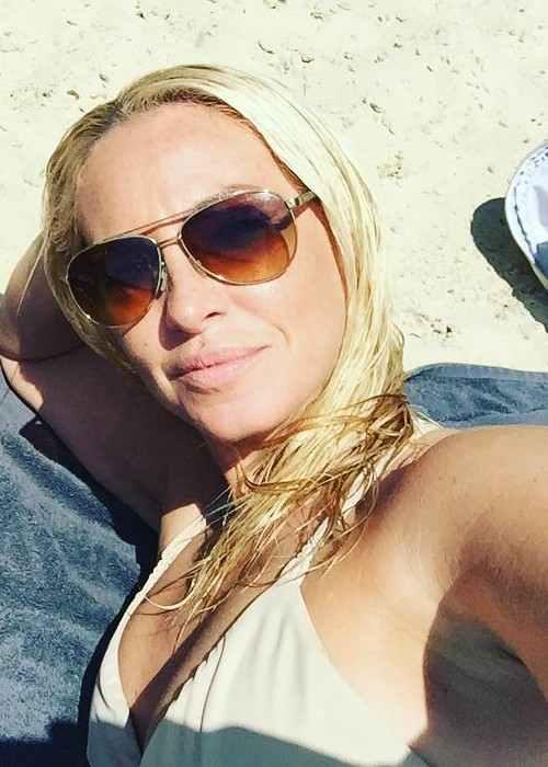 Josie Gibson in an Instagram selfie as seen in July 2017Josie Gibson in an Instagram selfie as seen in July 2017