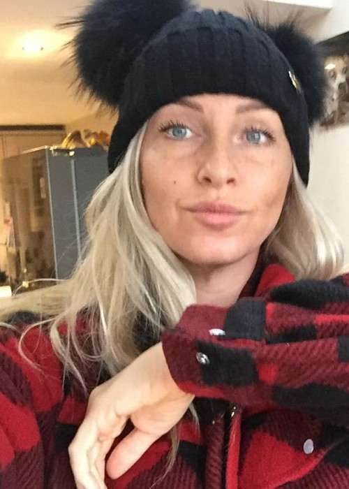 Josie Gibson in an Instagram selfie in December 2017