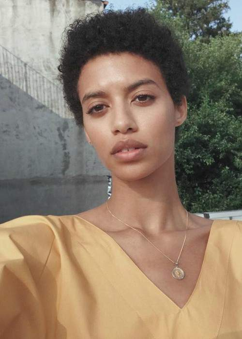Jourdana Phillips in a selfie in September 2017