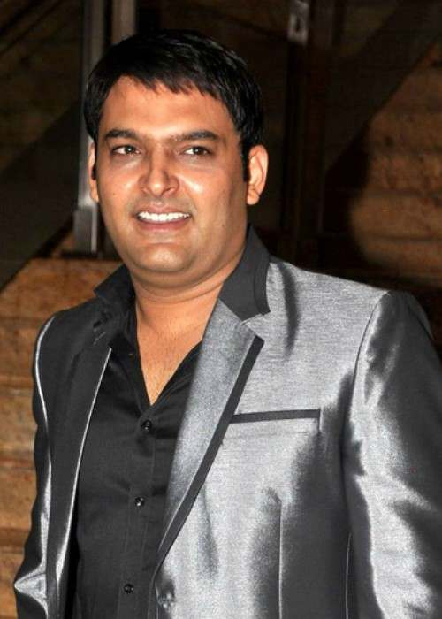 Kapil Sharma at the launch of Jai Maharashtra channel in March 2014