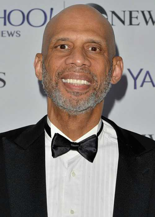 Kareem Abdul-Jabbar Attends the Yahoo News ABC News Pre-White House Correspondents Dinner Reception Pre-party in May 2014 in Washington DC