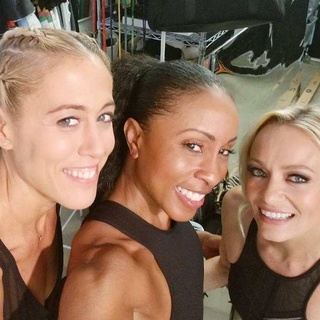 Lacey Stone, Latreal Mitchell, and Simone De La Rue (From Left) in a selfie in November 2017