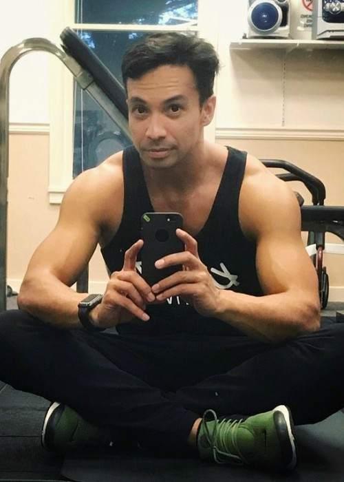 Laidback Luke in an Instagram selfie as seen in January 2018