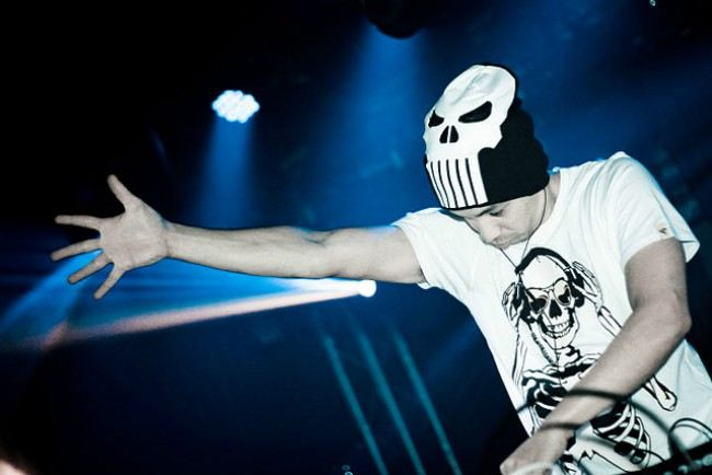 Laidback Luke live at Grindhouse in October 2011