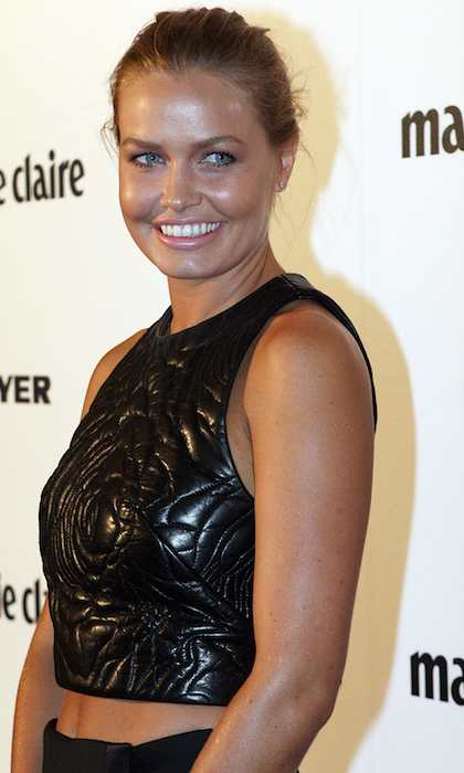 Lara Bingle at 2012 Prix de Marie Claire Beauty Awards