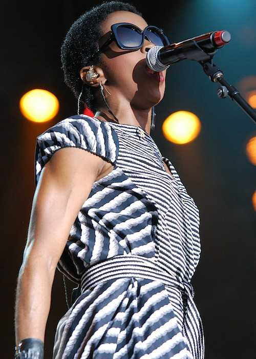 Lauryn Hill Performing at the RBC Royal Bank Bluesfest in Ottawa in 2012