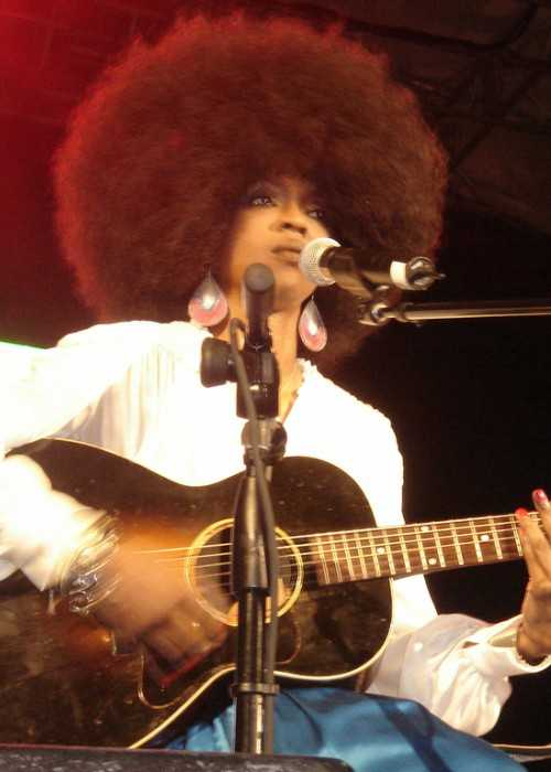 Lauryn Hill Performing in New York's Central Park in 2005