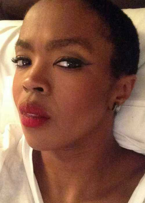 Lauryn Hill in an Instagram Selfie in May 2016