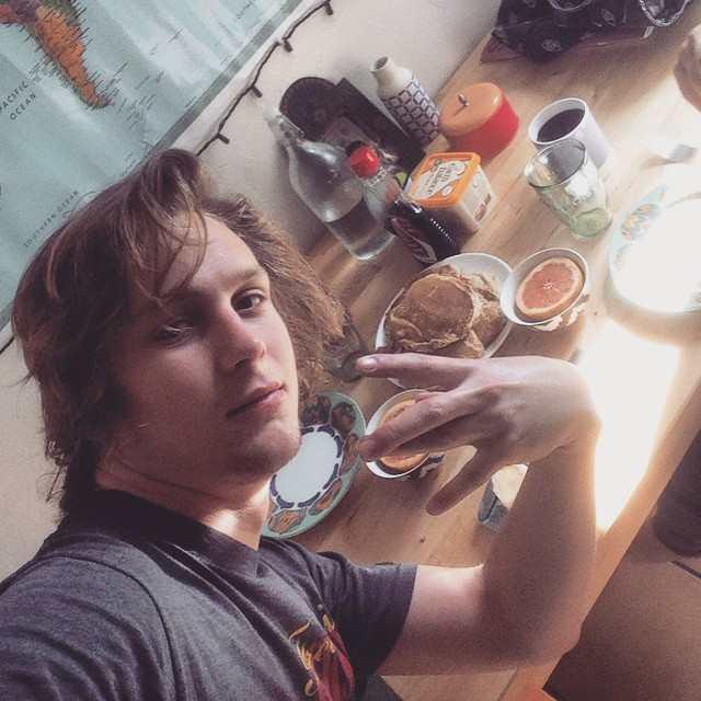 Logan Miller in an Instagram selfie in April 2015