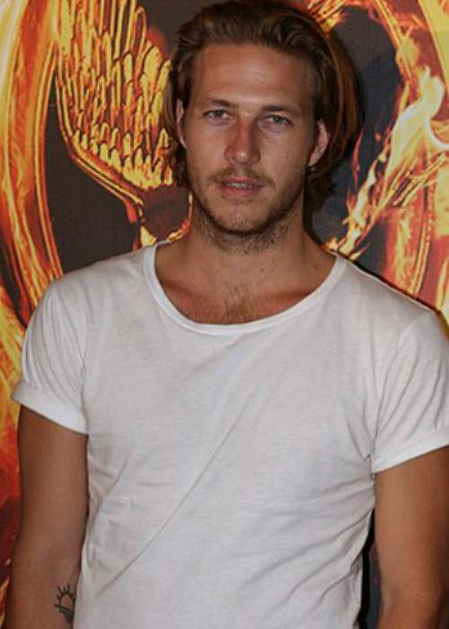 Luke Bracey at The Hunger Games Premiere in March 2012