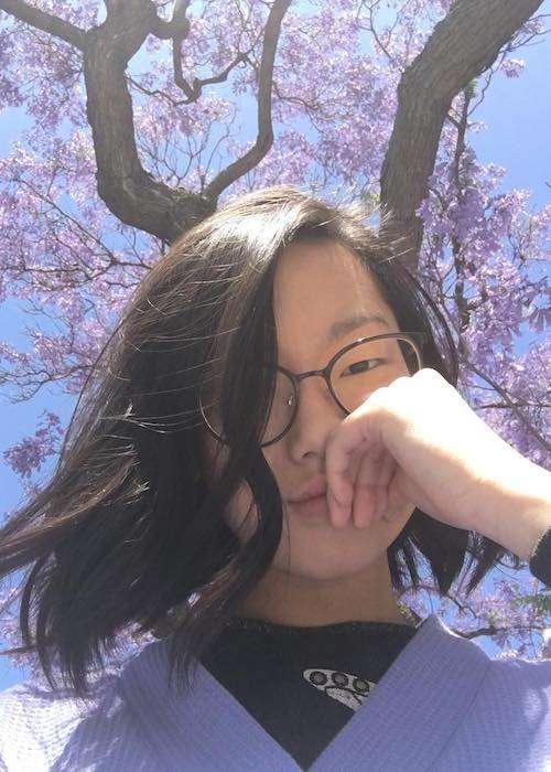 Madison Hu in an Instagram selfie in May 2017
