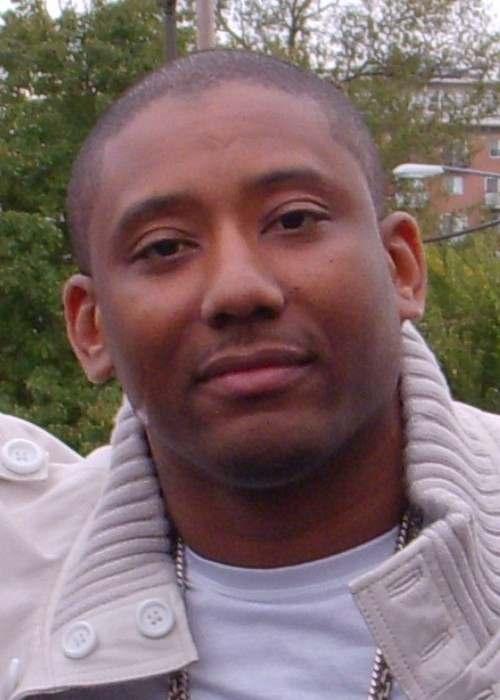 Maino at Howard University's Yard fest in 2009