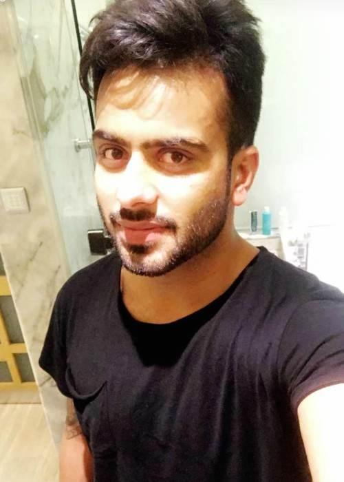 Mankirt Aulakh in an Instagram selfie as seen in January 2018