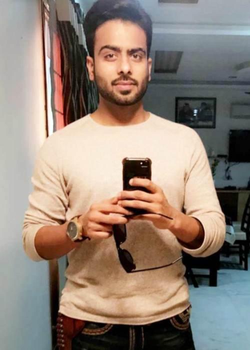 Mankirt Aulakh in an Instagram selfie in January 2017