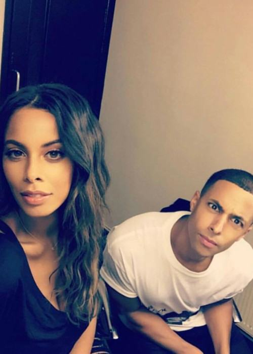 Marvin Humes and Rochelle Humes in a selfie in October 2016