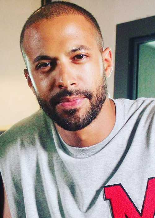 Marvin Humes in a selfie in August 2017