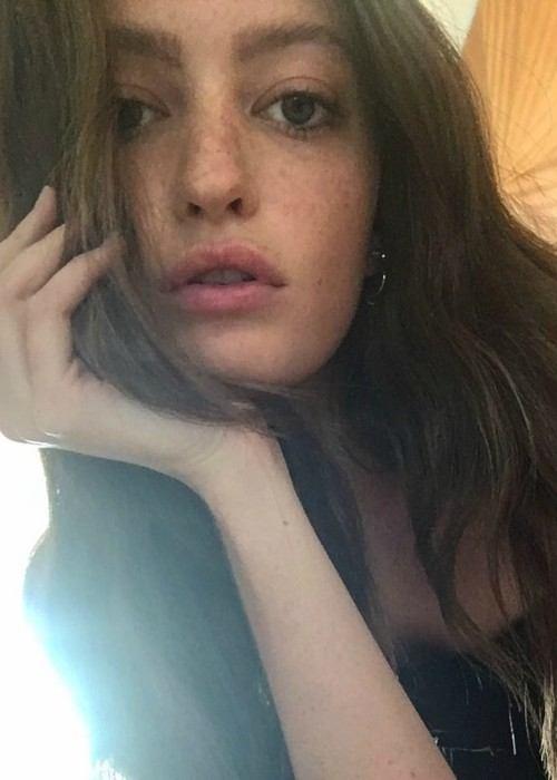 Megan Puleri in a selfie in July 2017