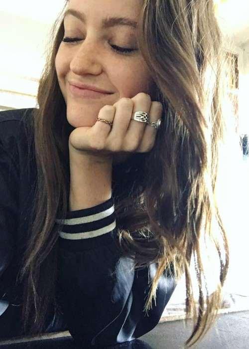 Megan Puleri in an Instagram selfie in March 2017