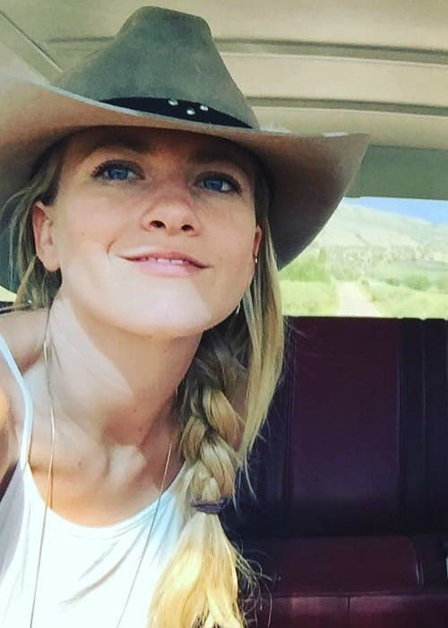 Meredith Hagner in an Instagram selfie as seen in September 2016