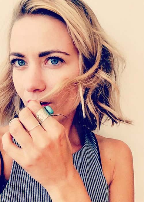 Meredith Hagner in an Instagram selfie in September 2014