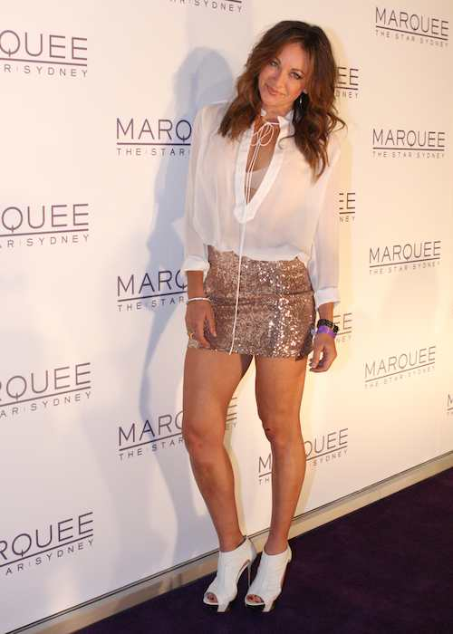 Michelle Bridges at Paris Hilton: Marquee The Star Sydney in 2012